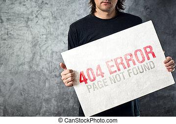 не, найденный, 404, ошибка, страница