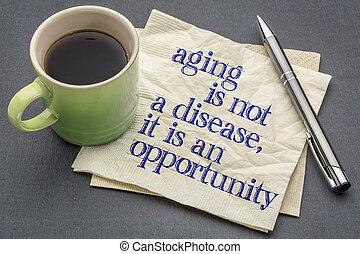 не, старение, болезнь
