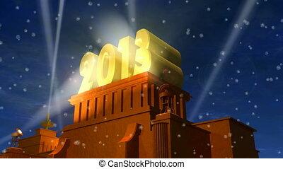 новый, заглавие, год, 2013, праздник
