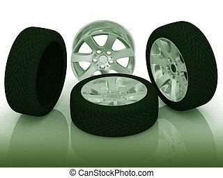 новый, wheels