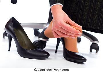 ноги, боль