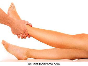 ноги, растягивание