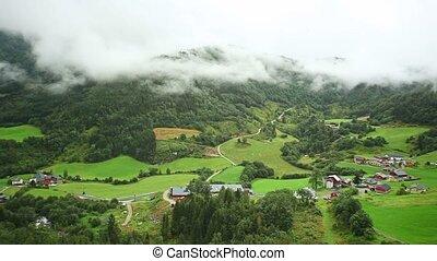 норвегия, долина