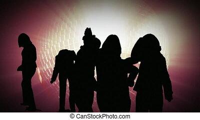 ночной клуб, акции, анимация, танцы