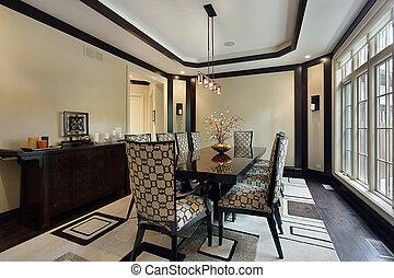 обеденный, потолок, лоток, комната
