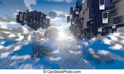 облако, computing.