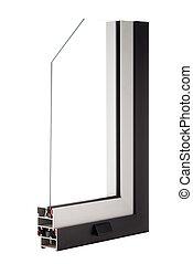 образец, aluminium, окно