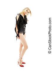 обувь, pearls, блондин, #2, высокий, красный