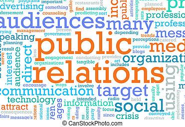 общественности, связи