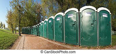 общественности, toilets, в, , парк