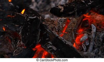 огонь, после, embers