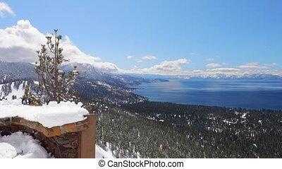озеро, панорама, tahoe