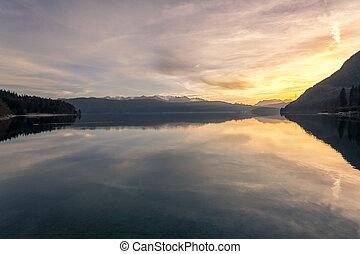 озеро, walchensee
