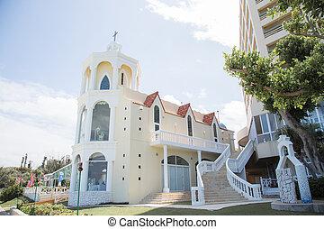 окинава, церковь