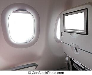 окно, сиденье