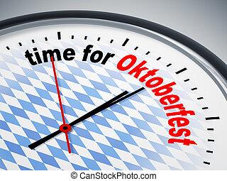 октоберфест, время