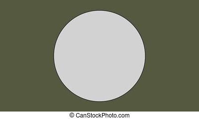 оливковый, зеленый, задний план, круг, против