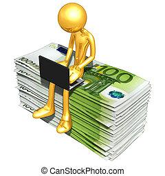 онлайн, банковское дело