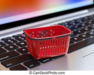 онлайн, поход по магазинам