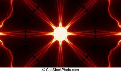 оранжевый, калейдоскоп