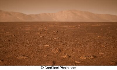 оранжевый, марсианин, пейзаж, фантастика, ржавый, shades