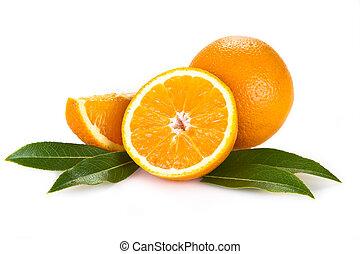 оранжевый, fruits