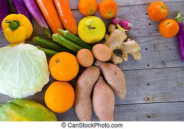органический, питание