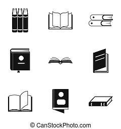 ориентир, icons, задавать, просто, стиль