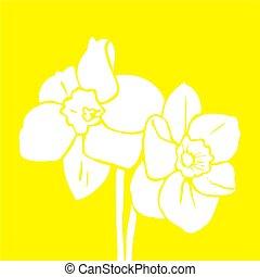 орнаментальный, бледно-желтый