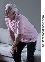 остеоартрит, of, , колено