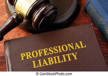 ответственность, профессиональный, книга, заглавие