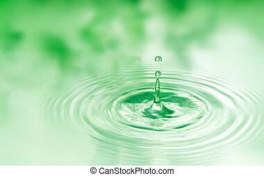 падение, of, воды