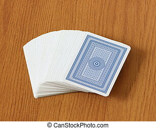 пакет, of, cards