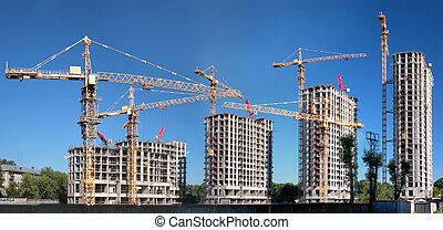 панорама, of, здание, of, an, корпус, имущество
