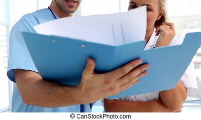 папка, doctors, analysing