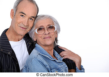 пара, пожилой