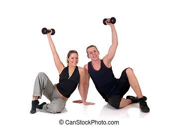 пара, фитнес