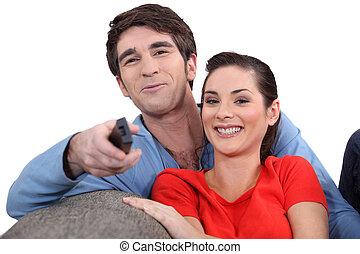 пара, enjoying, , фильм, вместе
