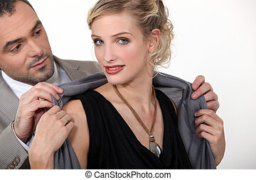 пара, well-dressed