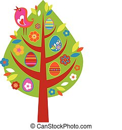 пасха, дерево