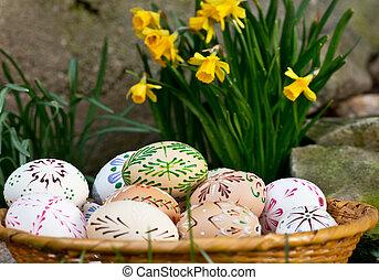 пасха, eggs