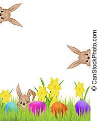 пасха, hares