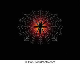 паук, &, web