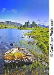 пейзаж, of, ирландия