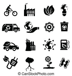 переработка, eco, энергия, чистый