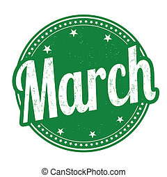 печать, март