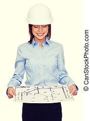 план, шлем, ищу, бизнес-леди
