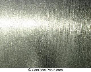пластина, серебряный