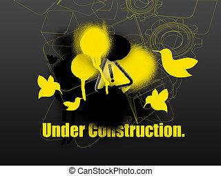 под, строительство, web, шаблон