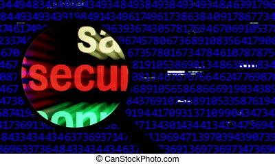 поиск, для, безопасность, онлайн